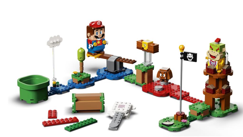 Niveau de départ Aventures avec Mario